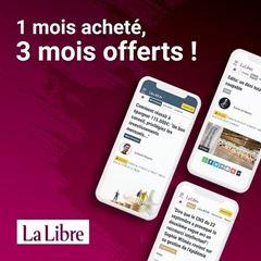 Image de La Libre Numérique +:  1 mois acheté 3 mois offerts, puis 12€ par mois