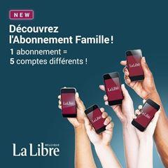 Image de La Libre Numérique + (option Famille) - Abonnement mensuel