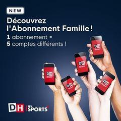 Image de Abonnement Numérique DH Illimité (option Famille) - Abonnement mensuel
