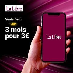 Image de La Libre Numérique +:  3 mois pour 3€, puis 12€ par mois